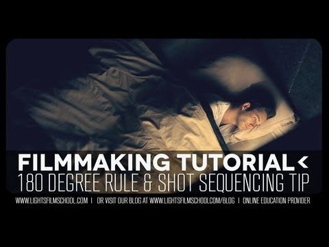 In filmmaking there is the 180 Degree rule. Basically an imaginary line that when maintained keeps continuity, but broken can add a jumpiness to the film. Check out how to utilize the 180 line in your short films in this video