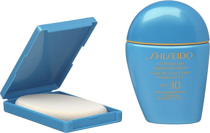 Meikki ja suoja yhdessä! SHISEIDO UV Protective Liquid Foundation -meikkivoide 30 ml. Kevyt, nestemäinen, kosteuttava. Hylkii vettä ja hikeä. SK 30. Kolme sävyä. 39,50 €.