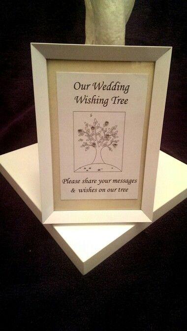 Wedding Wishing Tree From Www Rosiecarts Co Uk