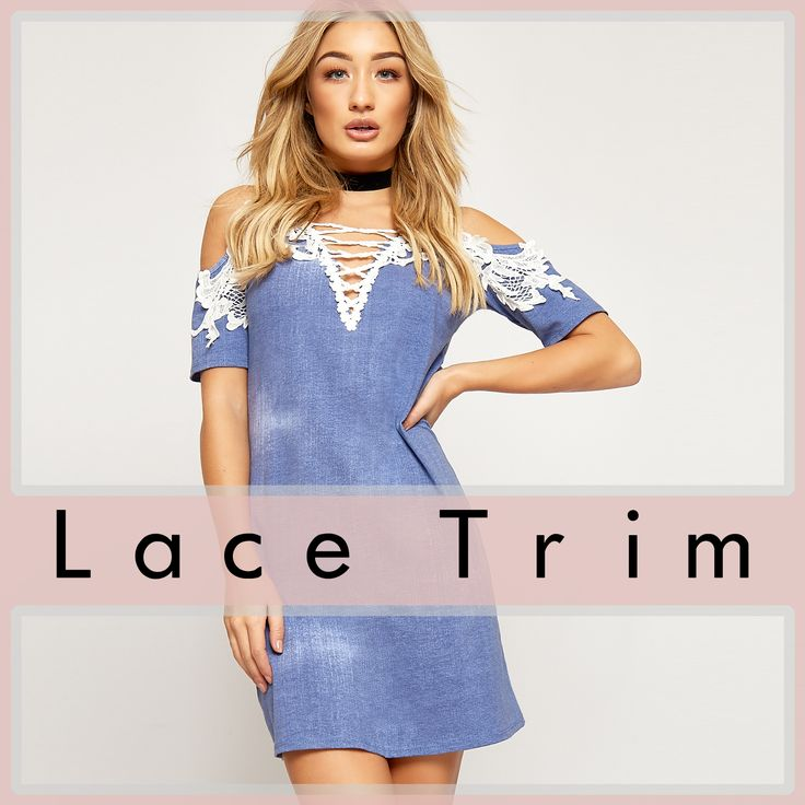 ♡ Lace Trim ♡ Shop this summer's fashion craze @WearAll. Lace trim appears to be everywhere in 2017 - boho dresses, strappy tops, on denim, on cotton, on everything! Get inspired with our collection, and pull the perfect look, whether it's casual, sexy, cute or elegant! https://www.wearall.com/search/?q=lace+trim&x=0&y=0