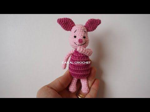 piglet amigurumi tutorial - YouTube