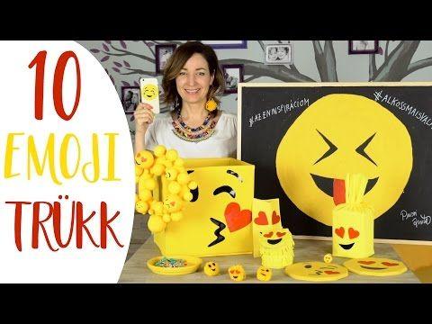 EMOJIS VIDEÓ?!? 10+1 Kreatív Emoji Trükk! - INSPIRACIOK.HU | Csorba Anita - YouTube