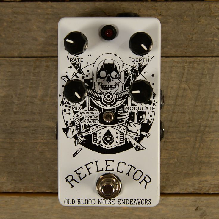 Old Blood Noise Reflector Chorus Noisemaker CME Exclusive White and Black (LTD of 10) USED
