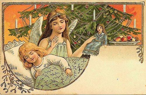 https://flic.kr/p/7o8Axh | Vintage Christmas Postcard | Free to use in your Art only, not for Sale on a Collage Sheet or a CD