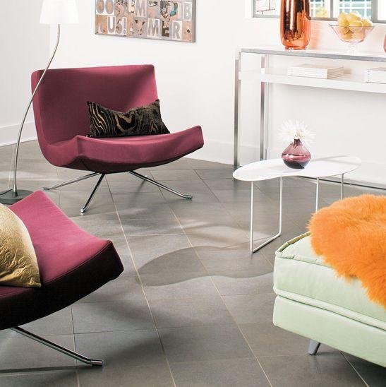 Dark Gray/black Urban Evening #tile Floor For Living Room.