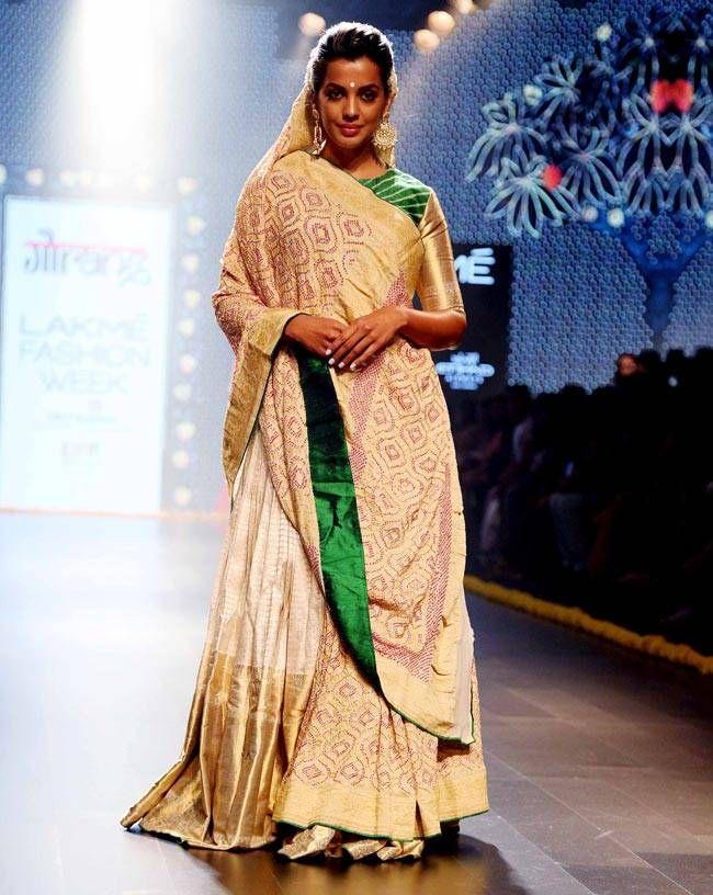 Mugdha Godse at Lakme Fashion Week 2016. #Bollywood #Fashion #Style #Beauty #Hot #Sexy