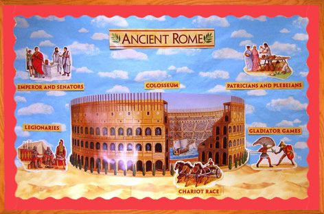 Ancient Rome Bulletin Board Bulletin Boards Pinterest