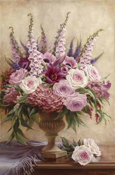 Symphony Bouquet I by Russian Painter Igor Levashov born 1964 http://www.barewalls.com/pv-467625_Symphony-Bouquet-I.html