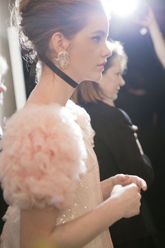 chanel couture 2011 backstage: Fashion, Style, Barbara Palvis, Pink, Barbarapalvin, Backstage, Chanel Haute, Haute Couture