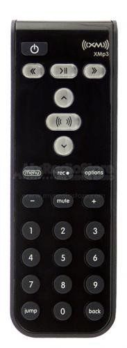"""XM Satellite Radio Replacement XMp3 Remote Control -Black-. Compatible with: Pioneer XMp3. Remote control dimensions: 1.5"""" W x 4.7"""" H x 0.6"""" D. Battery included."""