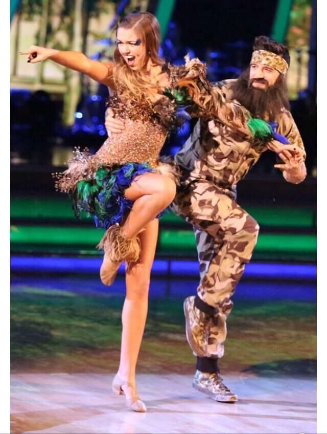 Mark Ballas & Sadie Robertson  -  Dancing With the Stars  -  season 19  -  week 4  -  fall 2014