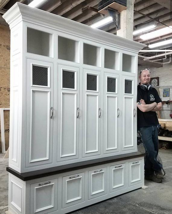 The Georgia Mudroom Lockers Bench Storage Furniture Cubbies Coat