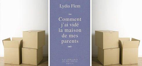 #Lectures #Famille Comment trouver le courage et l'énergie de faire le #tri dans leurs affaires, de vider LEUR maison ..
