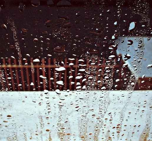 rain drops..