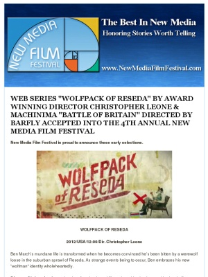 """WEB SERIES """"WOLFPACK OF RESEDA"""" BY DIRECTOR CHRISTOPHER LEONE & MACHINIMA """"BATTLE OF BRITAIN""""  BY BARFLY  http://mad.ly/c63c93?o=ts"""