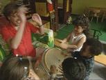 Filmpje over trommelen