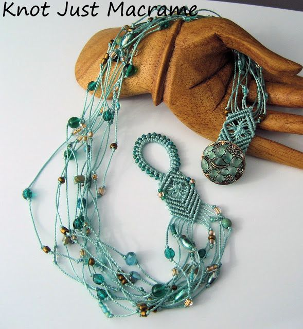 Beaded Macrame Necklaces
