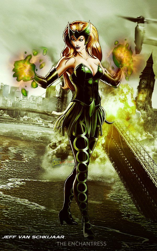 Amora The Enchantress Marvel Avengers Alliance by jeffery10 on DeviantArt