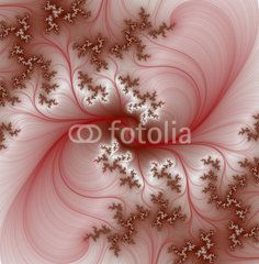Pink fractal background