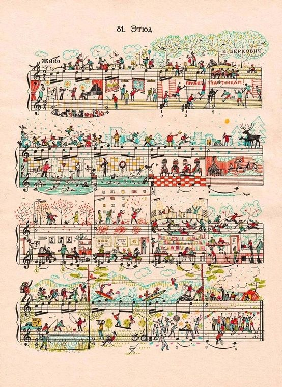 Sheet Music Art by Mike Lemanski                                                                                                                                                      Más