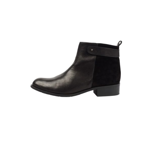 Low Suede Back Boot