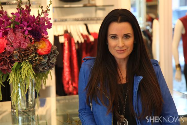 RHOBH star Kyle Richards shows us her style and her new Beverly hills clothing store!