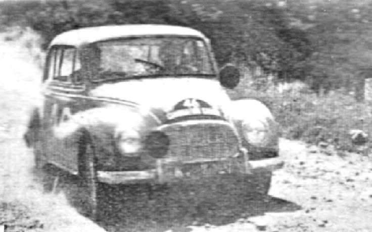 1958 Safari Rally: Auto Union 1000s finished 2nd and 3rd