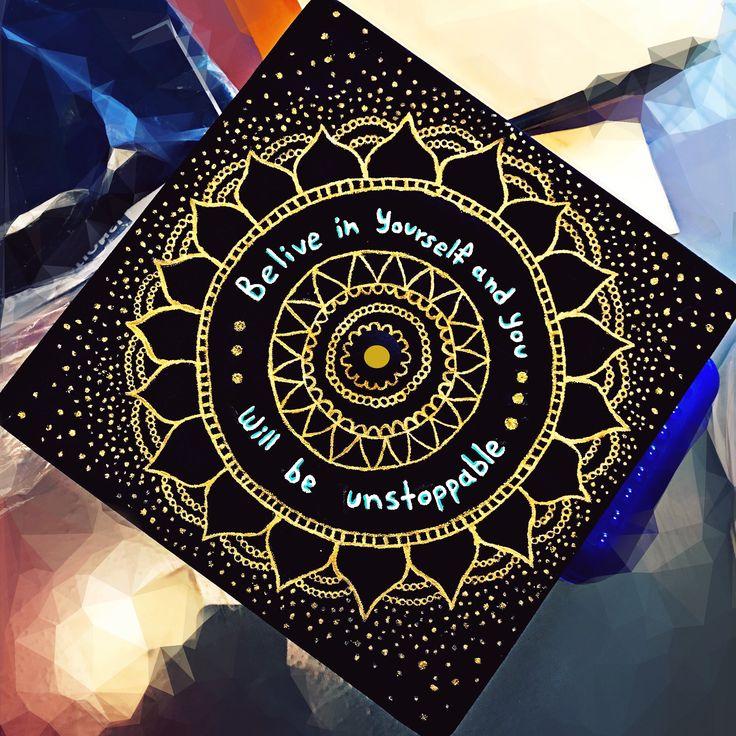 Graduation Cap 2017 Mandalacap Ideas Graduationcap