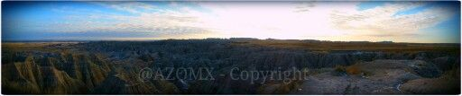 #Panoramic of the #badlands from #southdakota - #Sioux #Falls #City in #South #Dakota - @Sioux @Dakota @SouthDakota - #West #Travel #ctlife #ct #hdr_pics #hdr #blackandwhite - +South Dakota​ +Badlands Monthly​ +Visit Custer South Dakota​ +Black Hills and Badlands​