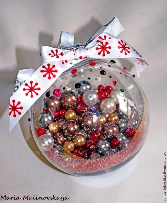 Новогодний шарик. Самый простой МК - Новогодние поделки