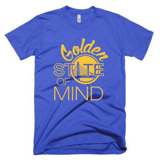 "Golden State Warriors ""Golden State of Mind"" custom t-shirt"