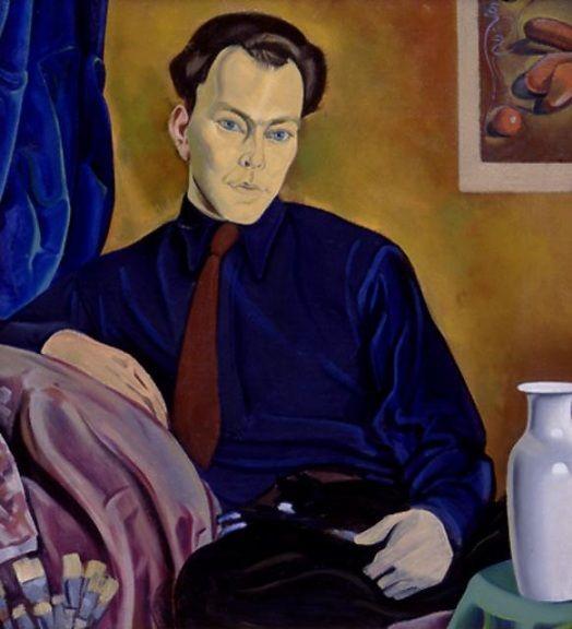 """""""Theo Schoon"""" c.1941-3 by Rita Angus (New Zealand 1908 - 1970)"""
