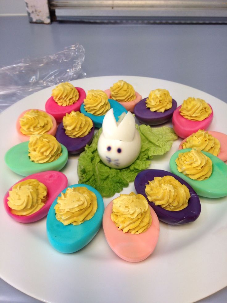 Savoury Easter eggs