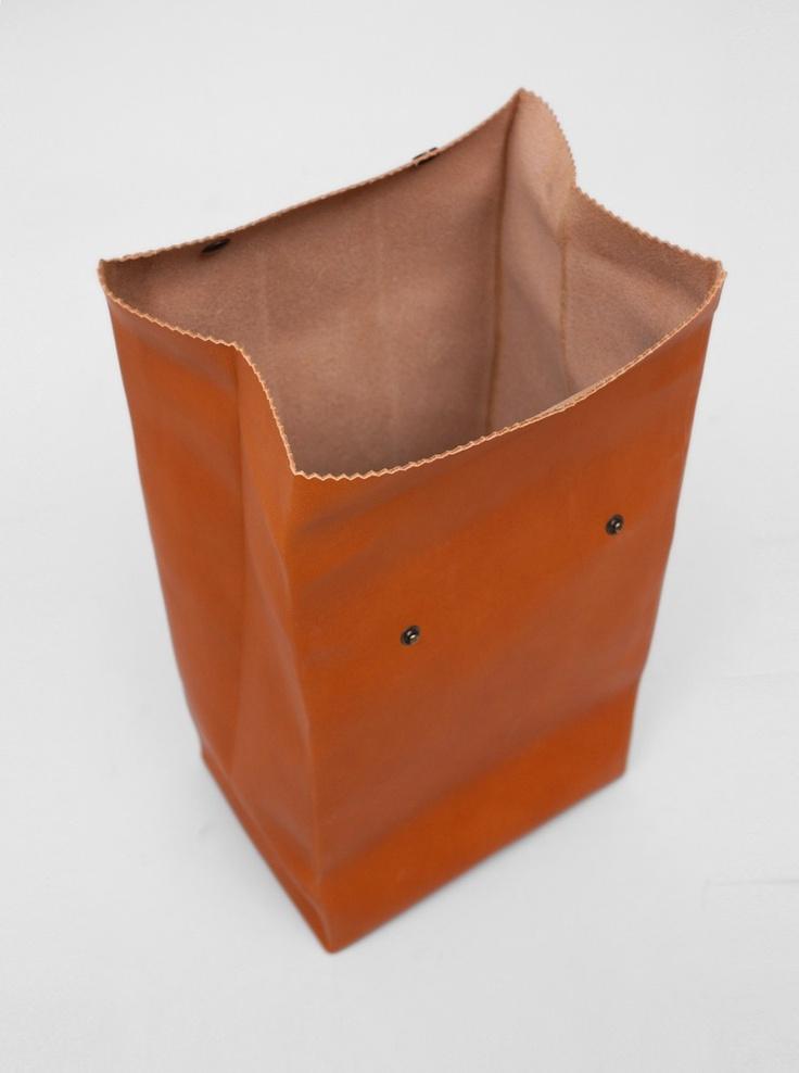 ANTIATOMS  Antiatoms Leather Bag Roll Top