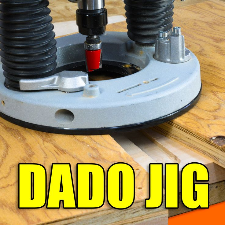 How to make a simple router jig for making Dado joints.