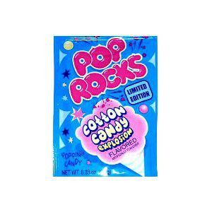 Taste the explosion! Pop Rocks are a fun candy that will safely fizz and pop in your mouth.