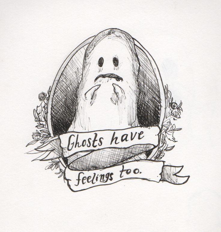 Los fantasmas también tienen sentimientos...