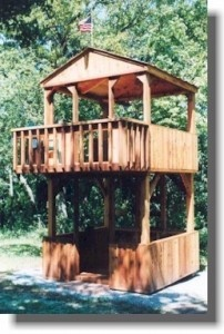 Two Story Fort would be so awesome to have a hot tub on the bottom