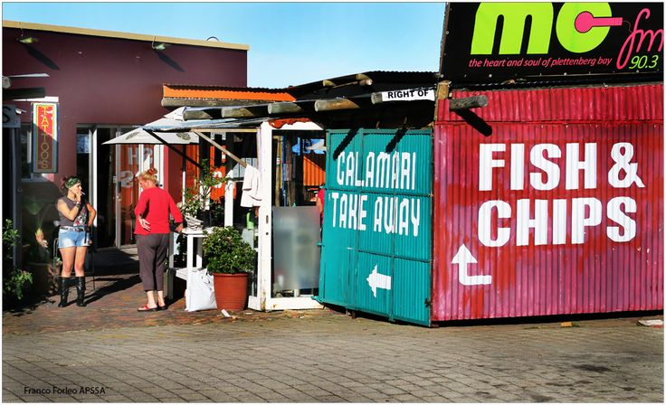 Fish and Chips in Plett...