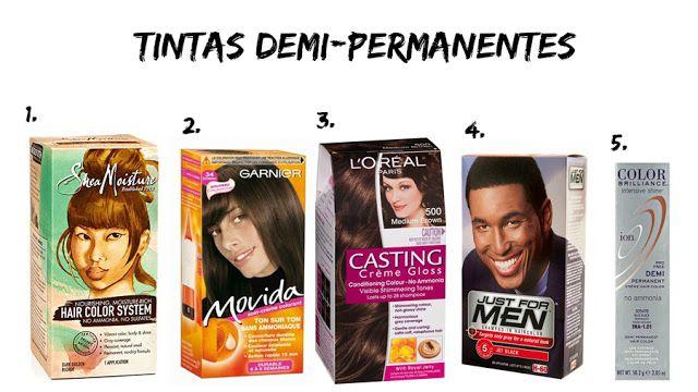 Sugestões de tintas demi-permanentes (tonalizantes) para o cabelo africano natural crespo ou cacheado, alisado...