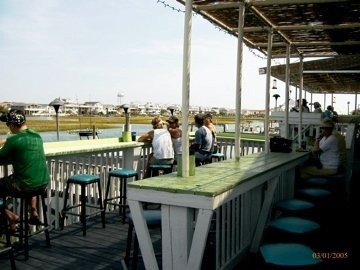 Great View And Tiki Deck At Sharky S In Oib Places To Eat Pinterest Ocean Isle Beach