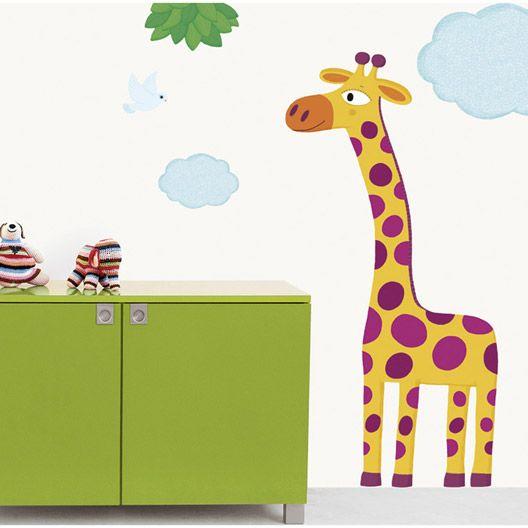 Sticker Grande Girafe, 49 x 69 cm