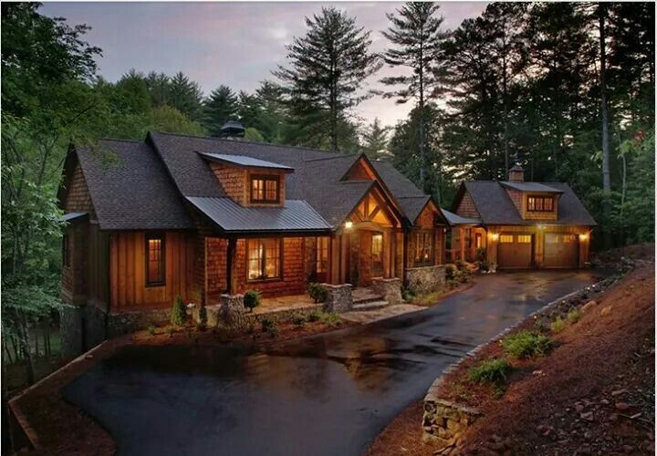 best 25 log homes exterior ideas on pinterest. Black Bedroom Furniture Sets. Home Design Ideas