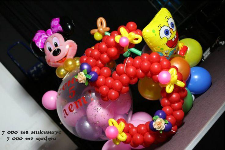 украшение воздушными шарами | Desserts, Cake, Food