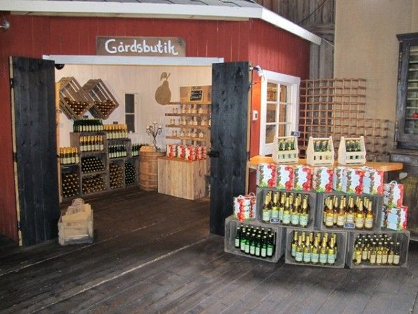 Gårdsbutik / Farm shop