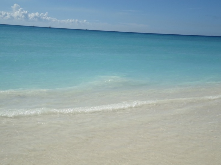 Blue waters soft sand...serenity