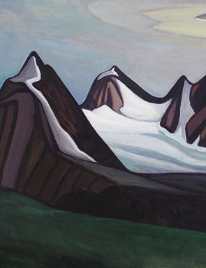 Lawren Harris canvas Mountain and Glacier, which outperformed its estimate of…