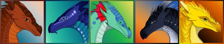FREE Wings of Fire Dragonets of Destiny Icons by xTheDragonRebornx.deviantart.com on @DeviantArt