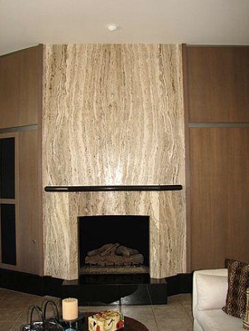 one slab really kjs roman travertine fireplace surrounds marble fireplace