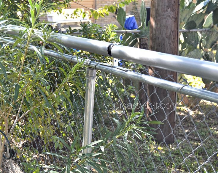 Roll Bar Fence DIY Keep Your Pets In & Others Out Your